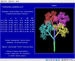 FracLin Screenshot - Fractal Tree